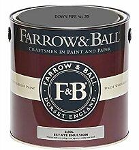 Farrow & Ball Estate Emulsion 2,5 Liter - DOWN PIPE No. 26