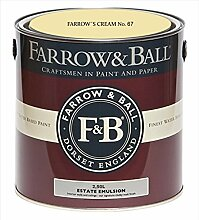 Farrow & Ball Estate Emulsion 2,5 Liter - FARROW´S CREAM No. 67