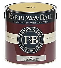 Farrow & Ball Estate Emulsion 2,5 Liter - HAY No. 37