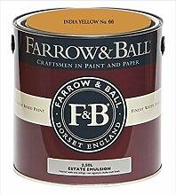 Farrow & Ball Estate Emulsion 2,5 Liter - INDIA YELLOW No. 66