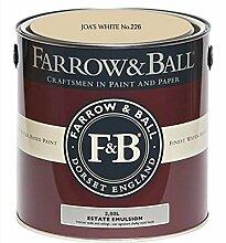 Farrow & Ball Estate Emulsion 2,5 Liter - JOA´S WHITE No. 226
