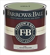 Farrow & Ball Estate Emulsion 2,5 Liter - LICHEN No. 19