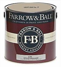 Farrow & Ball Estate Emulsion 2,5 Liter - LIGHT GRAY No. 17