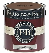Farrow & Ball Estate Emulsion 2,5 Liter - LONDON CLAY No. 244