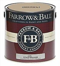 Farrow & Ball Estate Emulsion 2,5 Liter - LONDON