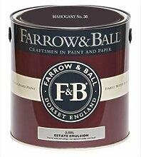 Farrow & Ball Estate Emulsion 2,5 Liter - MAHOGANY No. 36
