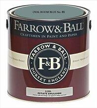 Farrow & Ball Estate Emulsion 2,5 Liter - OVAL ROOM BLUE No. 85