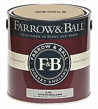 Farrow & Ball Estate Emulsion 2,5 Liter - OXFORD STONE No. 264
