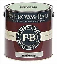 Farrow & Ball Estate Emulsion 2,5 Liter - PALE POWDER No. 204