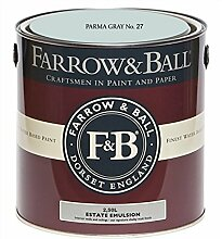 Farrow & Ball Estate Emulsion 2,5 Liter - PARMA GRAY No. 27
