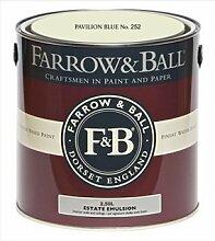 Farrow & Ball Estate Emulsion 2,5 Liter - PAVILION BLUE No. 252
