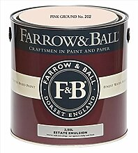 Farrow & Ball Estate Emulsion 2,5 Liter - PINK GROUND No. 202