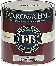 Farrow & Ball Estate Emulsion 2,5 Liter - PURBECK
