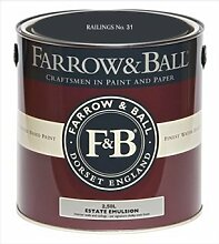 Farrow & Ball Estate Emulsion 2,5 Liter - RAILINGS