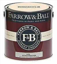 Farrow & Ball Estate Emulsion 2,5 Liter - RINGWOLD GROUND No. 208