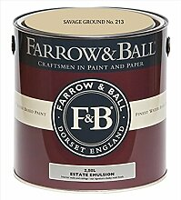 Farrow & Ball Estate Emulsion 2,5 Liter - SAVAGE GROUND No. 213