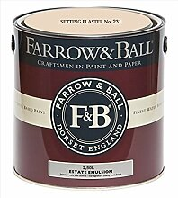 Farrow & Ball Estate Emulsion 2,5 Liter - SETTING PLASTER No. 231