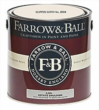 Farrow & Ball Estate Emulsion 2,5 Liter - SLIPPER SATIN No. 2004