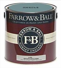 Farrow & Ball Estate Emulsion 2,5 Liter - STONE BLUE No. 86
