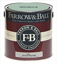 Farrow & Ball Estate Emulsion 2,5 Liter - TERESA´S GREEN No. 236