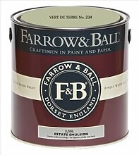 Farrow & Ball Estate Emulsion 2,5 Liter - VERT DE TERRE No. 234
