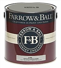 Farrow & Ball Estate Emulsion 2,5 Liter - WORSTED