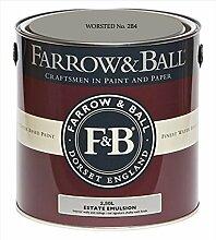 Farrow & Ball Estate Emulsion 2,5 Liter - WORSTED