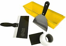 Fartools 212025 Spachtel-Set, 5 Werkzeuge, aus Kunststoff
