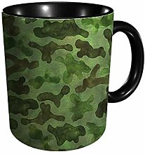 Fashion Abstract Camouflage 11 Gu Division Becher