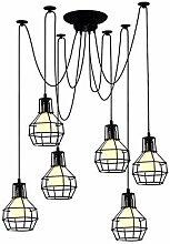 FASHION AMA Retro Lampe Vintage Lampen Pendant