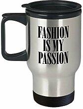 Fashion Designer Geschenk Fashionista Travel Mug