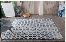 Fashion Geometrie Home Teppiche–memorecool Haustierhaus Sieben Muster Kein Verblassen anti-slipping einfachen Stil Wohnzimmer Tee Tisch Teppiche 78,7x 119,4cm, Pattern6, 47x71inch