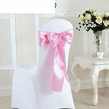 Fashion hochzeit elastischen stuhl rücken blume Schmetterling knoten stuhl rücken dekoration-H