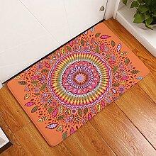 Fashion Home Fußmatte Teppich Badteppich Tür Teppich Sonnenblume Fußmatte