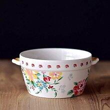 Fashion Keramik Schüssel Porzellan Schüssel