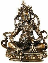Fashion158 Buddha-Statue Antik-Kupfer Tantrisches