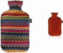 Wärmeflasche mit Kuschelbezug im ... Fashy 6757 25 Wärmflasche ~ Thermoplast