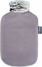 Fashy - Wärmflasche mit Fleecebezug und
