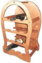 Fass Weinregal aus Holz Sperrholz Birke,
