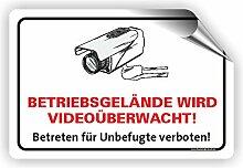 Fassbender-Druck SCHILDER BETRIEBSGELÄNDE