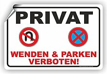 Fassbender-Druck SCHILDER PRIVAT - WENDEN UND
