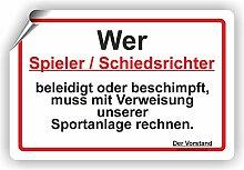 Fassbender-Druck SCHILDER Schiedsrichter