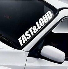 Fast & Loud Frontscheibe Windschutzscheibe