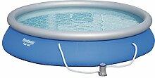 Fast Set Pool Set rund, mit Kartuschenfilterpumpe,
