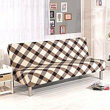 Fastar Sofa Cover All Inclusive Klapp Stretch Sofa Bett Sofa Cover Protector ohne Armlehnen für Home Dekoration Home Wohnzimmer a