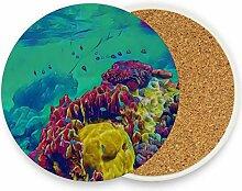 Faszinierende Koralle Unterwasser lustige Tisch