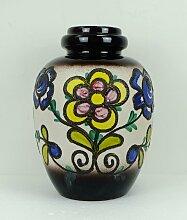 Fat Lava Bodenvase mit Blumendekor von Scheurich,
