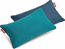 Fatboy 103104 King Pillow Duotone Kissen Petrol -
