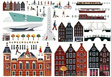 Fatboy Lekkerplekkuh/Fensterdekoration Amsterdam