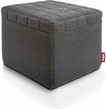 Fatboy Sitzwürfel Kunststoff grau 60 x 60 x 72 cm